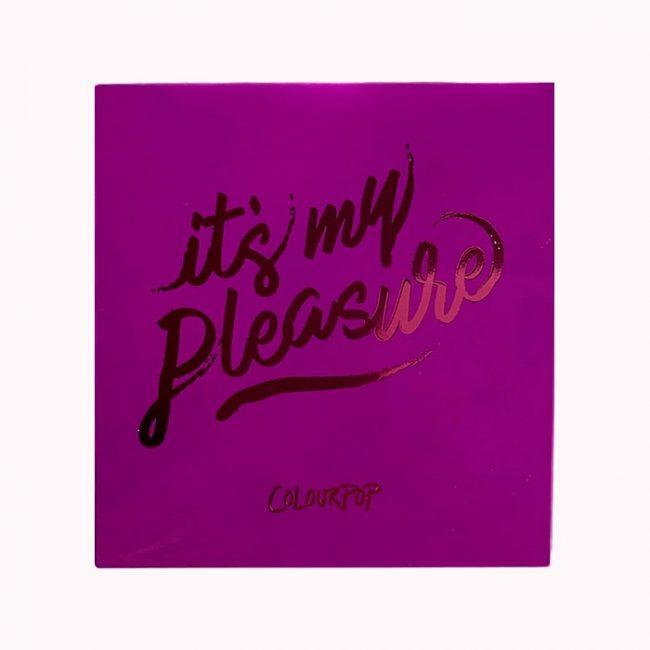 It's my pleasure - Colourpop